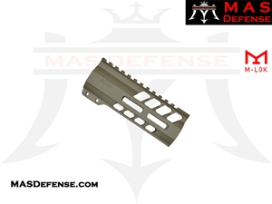 "MAS DEFENSE 5.5"" NERO M-LOK FREE FLOAT - FDE"