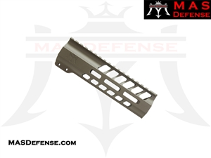 "MAS DEFENSE 7.25"" NERO M-LOK FREE FLOAT - FDE"