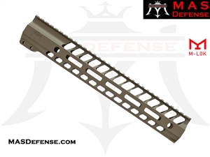 "MAS DEFENSE 12.62"" NERO M-LOK FREE FLOAT - FDE"