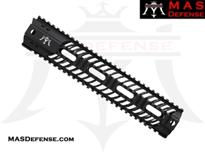 "MAS DEFENSE 12"" SQUADRON LIGHTWEIGHT QUAD RAIL"