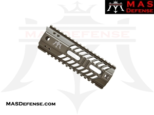 "MAS DEFENSE 7"" SQUADRON LIGHTWEIGHT QUAD RAIL - FDE"