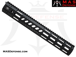 "MAS DEFENSE 15"" MW8 OCTAGON M-LOK AR-15 RAIL"