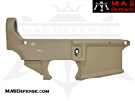80% FORGED LOWER RECEIVER - AR-15 80 PERCENT 80 % AR15 AR 15 FDE CERAKOTE