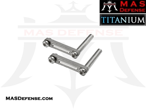 TITANIUM ANTI-ROTATION TRIGGER / HAMMER PIN SET AR-15