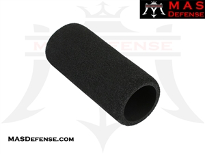 PISTOL BUFFER TUBE FOAM COVER - BLK