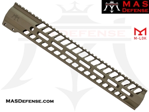 "MAS DEFENSE AR-10 .308 DPMS GEN 1 - 15"" NERO M-LOK FREE FLOAT - FDE"