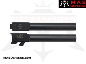 MAS DEFENSE 9MM 416R STAINLESS STEEL GLOCK 22 CONVERSION BARREL - MELONITE NITRIDE