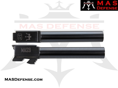 MAS DEFENSE 9MM 416R STAINLESS STEEL GLOCK 22 CONVERSION BARREL - RADIANT GRAY (DLC)