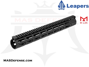 "UTG PRO M-LOK AR-10 DPMS-LR308 HIGH 15"" SUPER SLIM FREE FLOAT - MTU026SSMB"