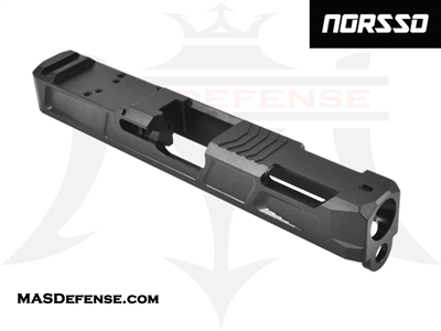 NORSSO SINGULARITY CUT SLIDE FOR GLOCK 19 GEN 1-3 - N19-SINGU-3 N19-SINGU