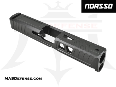 NORSSO TIGER CLAW 2.0 SLIDE FOR GLOCK 19 GEN 1-3 - N19-TC2-3 N19-TC2