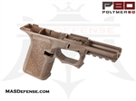 POLYMER80 GLOCK 19/23 80% POLYMER LOWER RECEIVER  - FLAT DARK EARTH (FDE) - P80-PF940CV1-FDE