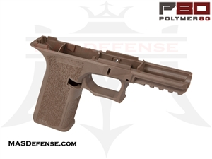 POLYMER80 GLOCK 17/22 80% POLYMER LOWER RECEIVER - FLAT DARK EARTH (FDE) - P80-PF940V2-FDE