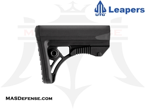 UTG PRO OPS READY S3 COMPACT STOCK - MILSPEC - BLK - RBUS3BMS