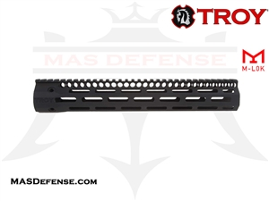 "TROY INDUSTRIES 12.5"" SOCC125 BATTLERAIL M-LOK - BLACK - SRAI-SR1-12BT-00"