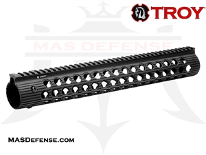 "TROY INDUSTRIES 15"" ALPHA RAIL - STRX-AL1-15BT-01"