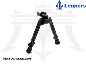 "UTG HEAVY DUTY RECON 360 BIPOD - HEIGHT 6.7""-9.1"" - TL-BP01"